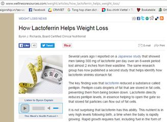 Tạp chí Lactoferrin