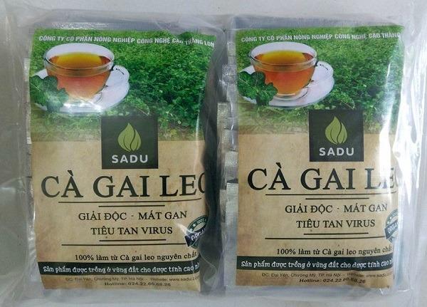 Gói lớn 600gram trà hoà tan cà gai leo