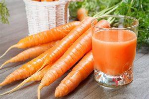 Công dụng của củ cà rốt