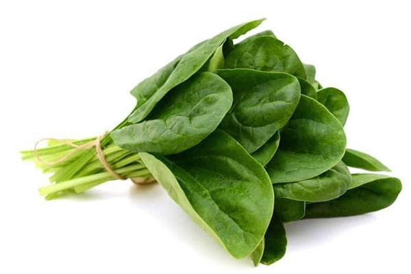 Công dụng của rau chân vịt