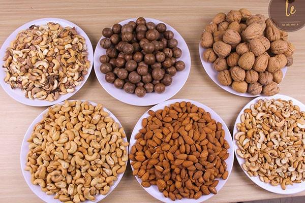 Giảm cân sau sinh bằng các loại hạt