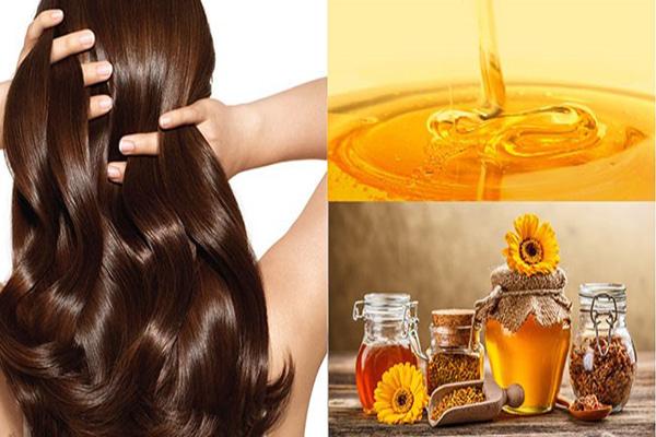 Mật ong tốt cho tóc