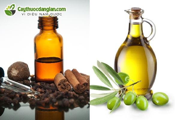 Dầu oliu và dầu đinh hương chữa sâu răng