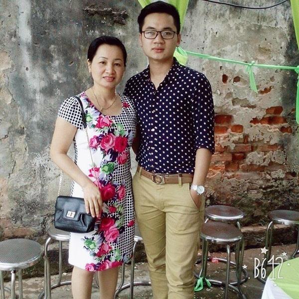 Nano Rutin OIC cô Thơm và con trai