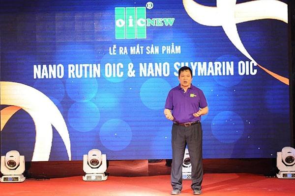 Tiến sĩ Lưu Hải Minh giới thiệu sản phẩm Nano Silymarin