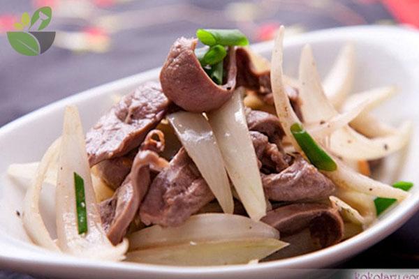 Hành tây xào thịt bò