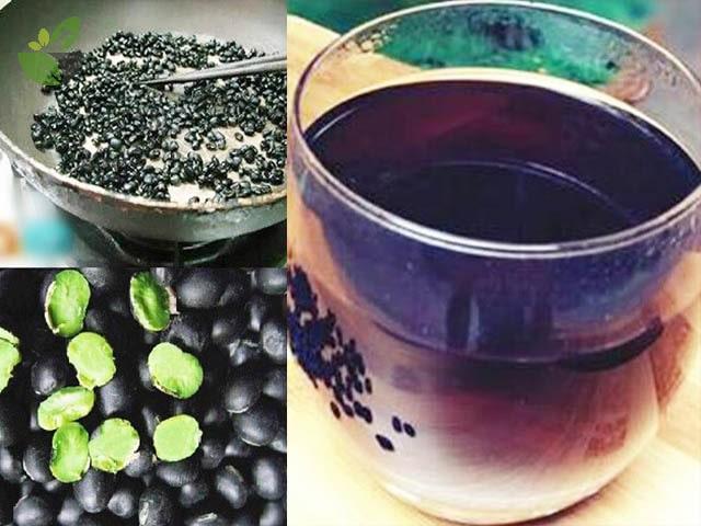 Nước đậu đen xanh lòng giải độc