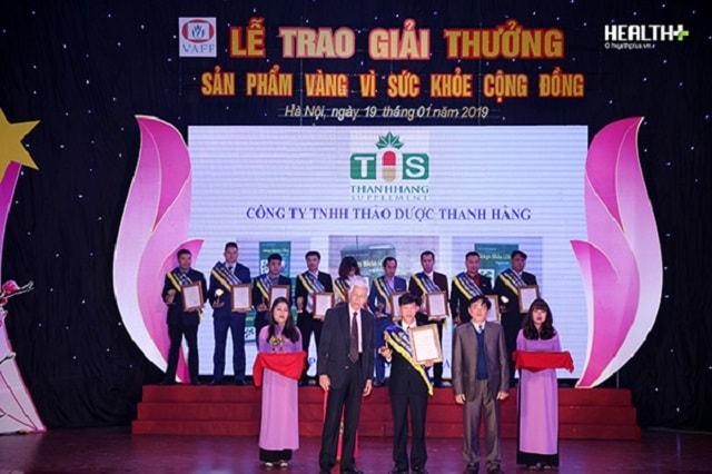 Lễ trao giải thưởng sản phẩm vàng vì sự phát triển cộng đồng
