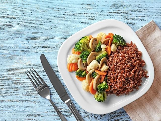 Món ăn từ gạo lứt đậu đen
