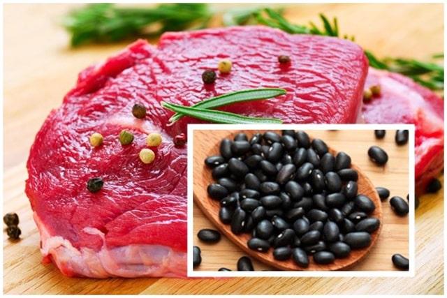 Kiêng kỵ nấu cháo đậu đen với thịt bò